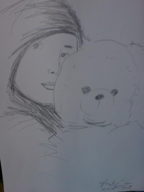 Tips melukis sketsa wajah